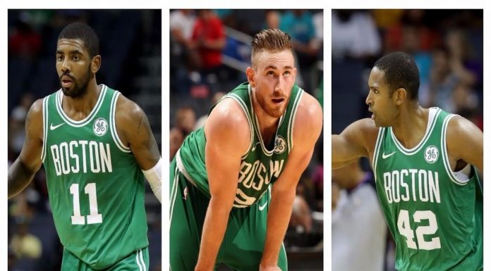 Celtics Lineup Opening Night