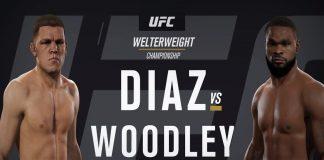 Nate Diaz vs Tyron Woodley
