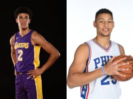 76ers Lakers