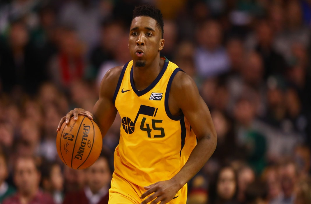 various colors 01ca1 cd1fc Donovan Mitchell Is A Clear Cut Rising Star | Per Sources