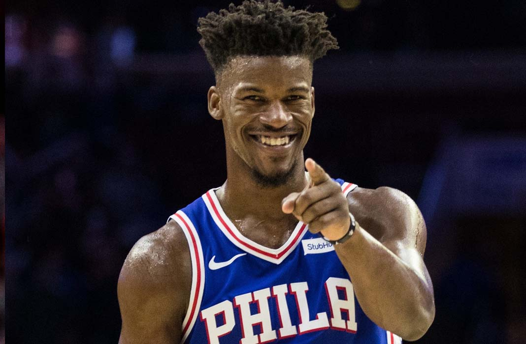 cheap for discount 658a6 b733b Why The Philadelphia 76ers Should Not Re-Sign Jimmy Butler ...